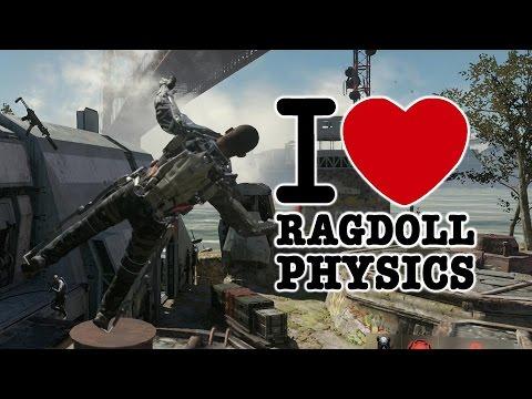 Call Of Duty Advanced Warfare I Heart Ragdoll Physics Youtube
