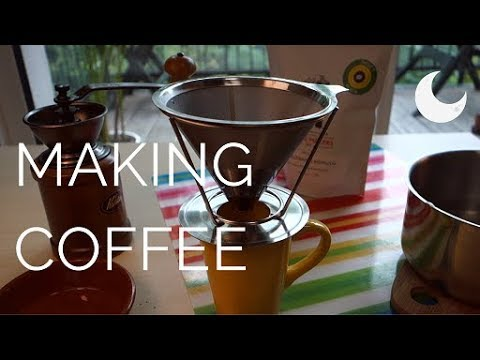 ASMR - Freshly ground coffee