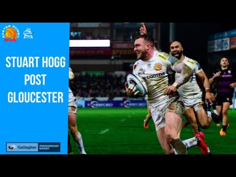 Stuart Hogg post Gloucester