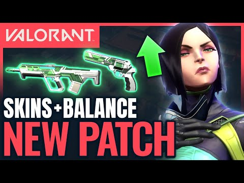 VALORANT   New Skins + Nerfs to Brimstone Smokes & Tagging! (Patch 1.02) from YouTube · Duration:  10 minutes 18 seconds