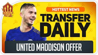 Man Utd BID For James MADDISON! Man Utd Transfer News
