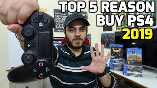 Top 5 Reasons to Buy PS4 in 2019 | HINDI |