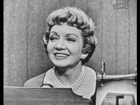 What's My Line? - George Stevens; Claudette Colbert; James Mason [panel] (Sep 30, 1956)