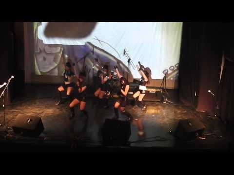 (Kawaii smile) Morning Musume Onna to Otoko no Lullaby Game en shibuya rock 2014
