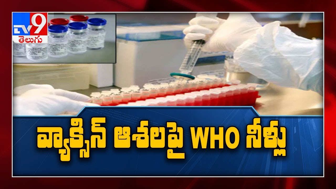 Widespread Covid vaccination not expected until middle of next year : WHO - TV9
