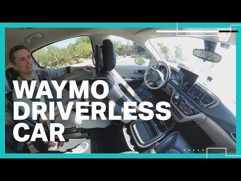 Waymo bietet jetzt autonome Fahrten völlig ohne Fahrer an!