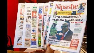 LIVE MAGAZETI: Mbunge aingia matatani, Sirro amhakikishia usalama Tundu Lissu