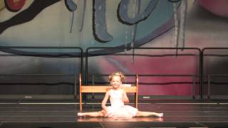 Jesus Loves Me - 4 year old ballet solo dance
