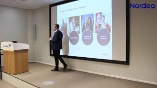 Nordea-leder Snorre Storset om digitalisering og bankens fremtid