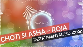 Choti Si Asha Instrumental | Roja | HD 1080p