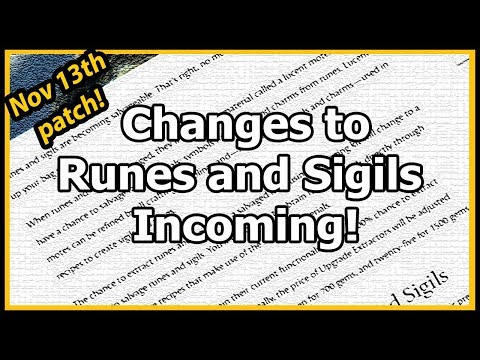 Guild Wars 2  - Changes to Runes and Sigils Incoming! thumbnail