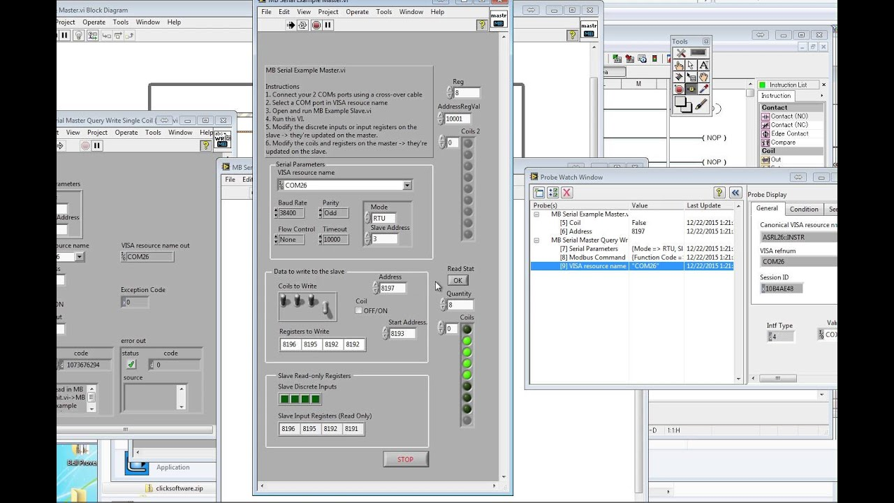 How To Talk to Automation Direct CLICK C0 01DD1 0 with LabVIEW