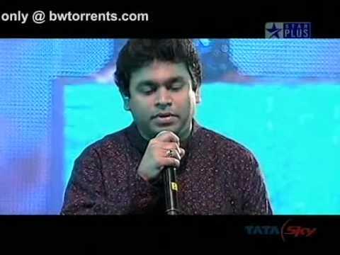 Tere Bina - Chinmaye A R Rehman in Live Concert