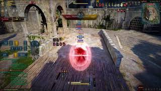 Black Desert PVP Warrior LVL62 (221/316) VS Witch LVL61 (140/380)