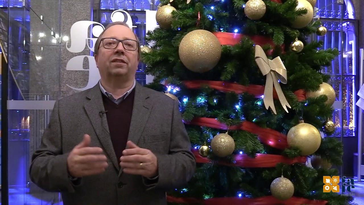 Mensagem de Natal do Presidente da Câmara Municipal.