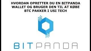 Brug Bitpanda til at købe BTC Packs i USI Tech