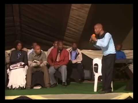 NJ Sithole   So that men are without excuse -pt1