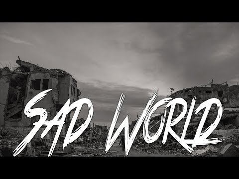 SAD WORLD – Sad Emotional Violin Rap Instrumental with Vocal Samples | Sad War Rap Beat
