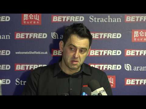 Ronnie O'Sullivan Post - Round 2