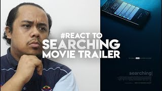 #ZHAFVLOG - DAY 191/365 - #React to SEARCHING Movie Trailer | Sony Pictures Entertainment