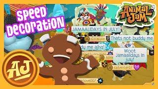 July Jamaalidays - Play Wild Speed Den Decoration