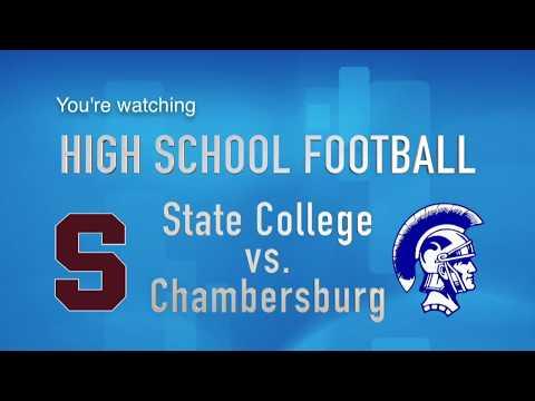State College vs. Chambersburg High School Football 10/27/17