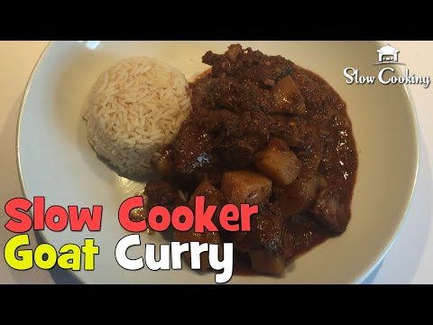 Simply Amazing Slow Cooker Goat Curry, That Is Low In Fat And Super Healthy