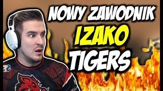 IZAKO TIGERS Z NOWYM ZAWODNIKIEM W KWALIFIKACJACH DO GAMES CLASH !!! STOMP AWP GOD !!!