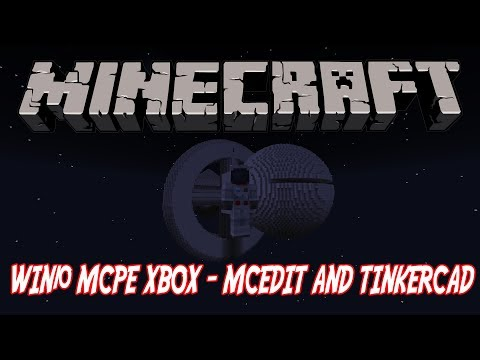 HOW TO MAKE A SPACESHIP IN Minecraft Bedrock with Tinkercad