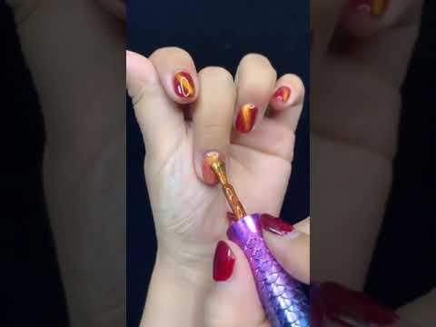 ネイルアート| 最高のネイルアートデザイン| 長い爪を見せて