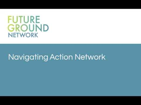 2. Navigating Action Network
