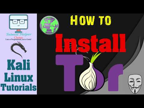 How To Install Tor Browser In Kali Linux || Install Tor As Root In Kali Linux || Anonymous Browsing