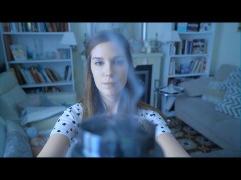 ASMR Shamanic Hand Movements - Smoke - Whispering in Catalan French and English - Binaural