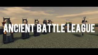 ROBLOX | ANCIENT BATTLE LEAGUE | ROUND 1 (MONTAGE/HIGHLIGHTS)