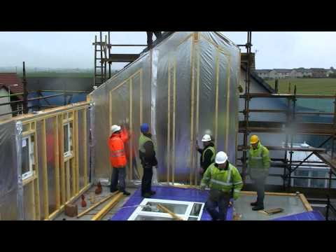Val-U-Therm Kit Construction in Pittenweem, Scotland