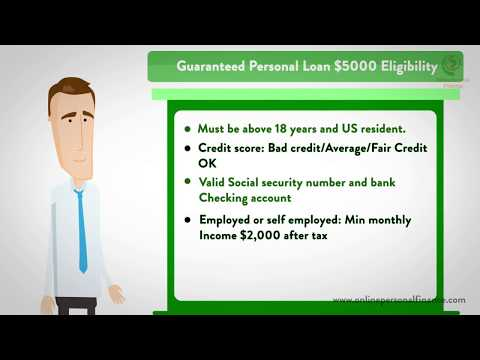 Personal Loans Direct Lenders for People with Bad Credit Approval 2018