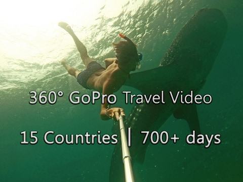 Fairly EPIC 360° GoPro Travel Video │15 Countries│700+days│