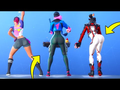 Thicc Skins Look Better With These Dances In Fortnite Battle Royale.!