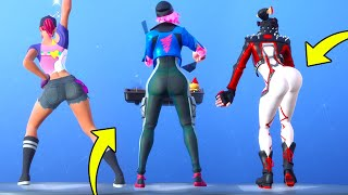 Thicc pieles se ven mejor con estos bailes en Fortnite Battle Royale.!