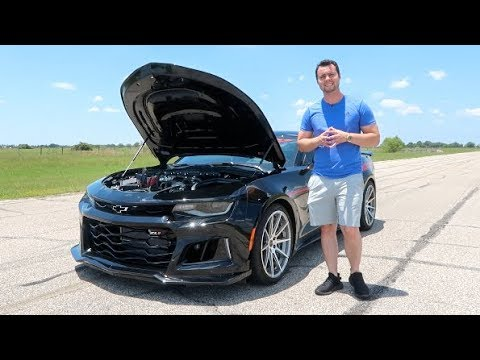 The Exorcist Camaro Zl1 Is A 1000hp Demon Killer Youtube