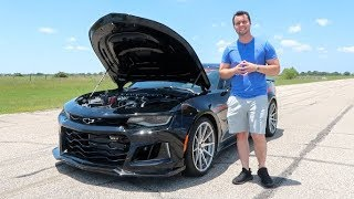 The Exorcist Camaro ZL1 Is A 1000HP Demon Killer