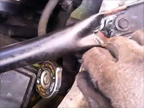 Water pump replacement on GM 3400 engine - YouTube