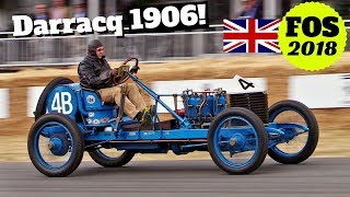 Darracq Grand Prix (1906), Unique Pre-War jewel in Action! - 2018 Goodwood Festival of Speed