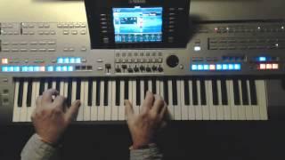 Merci Cherie - Udo Jürgens Instrumentalcover auf Yamaha Tyros 4