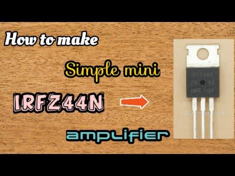 mosfet audio amplifier circuit diagram - Myhiton
