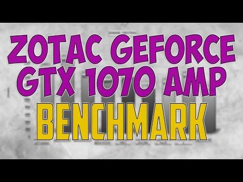 ZOTAC GeForce GTX 1070 AMP BENCHMARK / GAME TESTS REVIEW / 1080p, 1440p, 4K