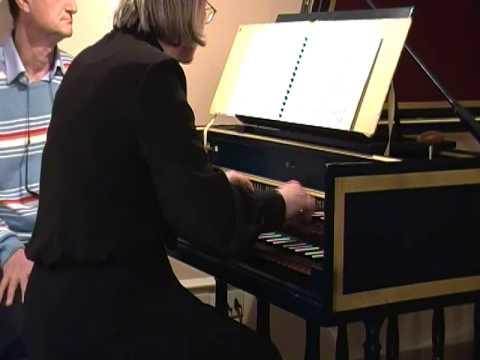Альберти, Доменико - Соната VI op.1 соль мажор для клавесина