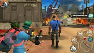 DEAD RIVALS  - ZOMBIE MMO ANDROID GAMEPLAY - #2