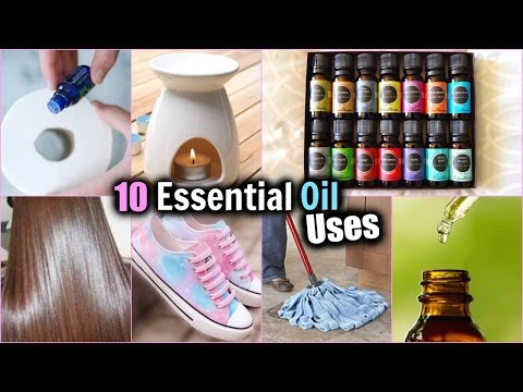 10 EVERYDAY USES OF ESSENTIAL OILS! │HOW TO USE ESSENTIAL OILS │ Essential Oil DIY's