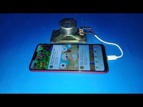 Cara Membuat Wifi Sendiri Dari Charger \u0026 Speaker Free Internet Data